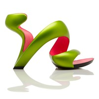 Julian Hakes - Mojito Shoe-Matt Lime and Fuschia