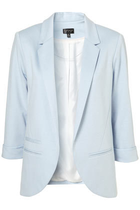 Pale Blue Boyfriend Blazer - New In - Topshop USA