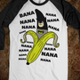 Batman Banana - Well That's Just Super - Skreened T-shirts, Organic Shirts, Hoodies, Kids Tees, Baby One-Pieces and Tote Bags