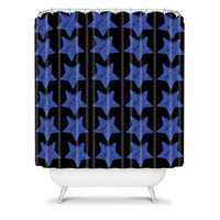 DENY Designs Home Accessories | Randi Antonsen Bluestar Shower Curtain