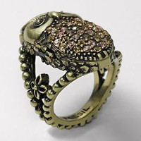 FOSSIL-  Sparkling Owl Ring
