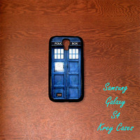 Samsung Galaxy S4 Case, Tardis Dr.Who Samsung Galaxy S4/S3 Phone case,  Samsung Galaxy S3 Cases, Galaxy S4/ S3 case