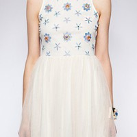 Penelope jewel dress