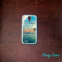Samsung Galaxy S4  Case, Forever  Love infinity Samsung Galaxy S4/S3 Phone case, forever young Samsung Galaxy S3 Cases, Galaxy S4/ S3 case