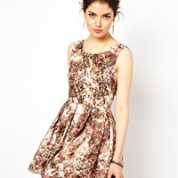 Oh My Love Smudge Print Dress at asos.com