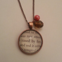 Game of Thrones Kissed by Fire Ygritte Necklace