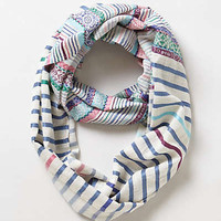 Anthropologie - Colorwork Infinity Scarf