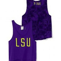 LSU High-Low Tank - PINK - Victoria's Secret