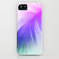 Painted Feather iPhone & iPod Case by Ally Coxon