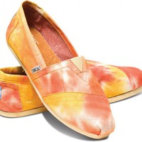 Orange and Yellow Tie Dye Women&#x27;s Classics