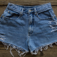 LA Blues High Waisted Shorts