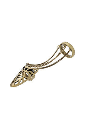 Filigree Tip Double Ring - Jewelry - Accessories - Topshop USA