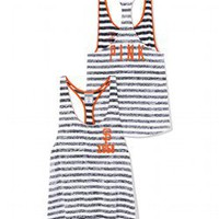 San Francisco Giants High-Low Striped Tank - PINK - Victoria's Secret