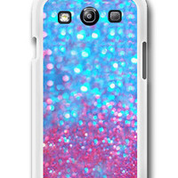 Personalized Sparkle&amp;Glitter - Samsung Galaxy S3 Case Samsung Galaxy SIII Case ,