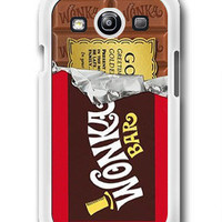 Golden Ticket Willy Wonka - Samsung Galaxy S3 Case Samsung Galaxy SIII Case ,