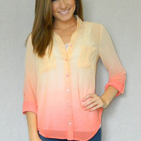 Fading Colors Blouse | Girly Girl Boutique