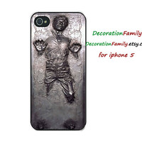 Han Solo case Han Solo iphone case Han Solo Starwars case Han Solo iphone 4 case  Han Solo Starwars iphone 4s case  Han Solo iphone 5 case