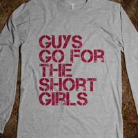 Short Girl - Drews Boutique - Skreened T-shirts, Organic Shirts, Hoodies, Kids Tees, Baby One-Pieces and Tote Bags