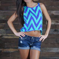 Poppin' Zags Crop Top
