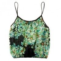 Buy Only Hearts luxury lingerie - Only Hearts Green Daisy Blouson Cami  | Journelle Fine Lingerie