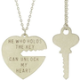 Key To My Heart Necklace Set wit...