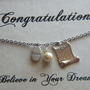 Graduation Necklace, Graduation Gift, Diploma Necklace