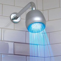 ThinkGeek :: LED Shower Light