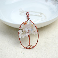 Necklace designs-mothers day necklace with the ingenious tree of life pendant         – Pandahall