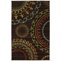 Mohawk Home New Suzani Panel Multi 5 ft. x 8 ft. Area Rug-368456 at The Home Depot