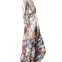 LONG PRINTED DRESS - Dresses - Woman - ZARA United States
