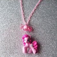 Pink Sweets - Pinkie Pie Necklace from On Secret Wings