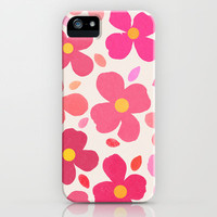 Dogwood Pink iPhone & iPod Case by Garima Dhawan