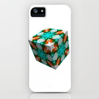 Smoke 3D 1 iPhone & iPod Case by Steve Purnell