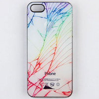 ZERO GRAVITY Cracked iPhone 5 Case