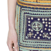 EMBROIDERED SKIRT WITH MIRRORS - Skirts - Woman - ZARA United States