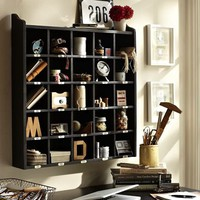 Cubby Organizer - Black
