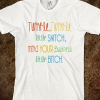 Twinkle Twinkle Little Bitch Funny Sarcastic Meangirl Shirt