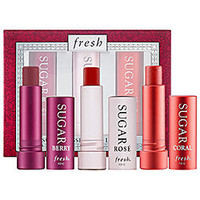 Sephora: Fresh : Sugar Kisses Mini Lip Trio : lip-balm-treatments-skincare