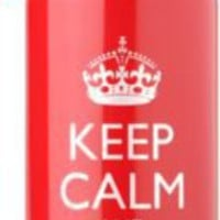 Keep Calm and Carry On Water Bottle - Paper Source