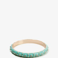 Lacquered Rhinestone Bangle | FOREVER 21 - 1022558013