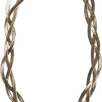 SEREFINA VINTAGE CHAIN CHOKER NECKLACE | Swell.com