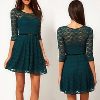Loveliness Lace Bodycon Dress