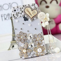 Diamond Cover Case For Iphone4/4s /5