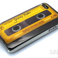 Vintage Tape recorder Case for iPhone 4/4s