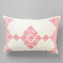 Urban Outfitters - Magical Thinking Embroidered Diamond Pillow