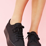 Zomg Platform Sneaker - Black