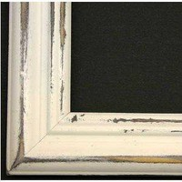 Amazon.com: Distressed White Picture Frame