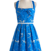 Dreamy Destination Dress in Seagulls | Mod Retro Vintage Dresses | ModCloth.com