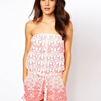 River Island Club Med Playsuit at asos.com