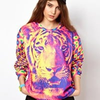 Mr. Gugu & Miss Go Tiger Sweatshirt at asos.com